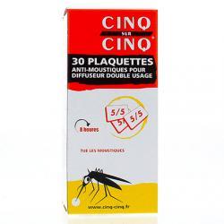 CINQ/CINQ RECHARGE 30 PLAQUE