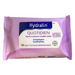 HYDRALIN Quotidien lingettes douces