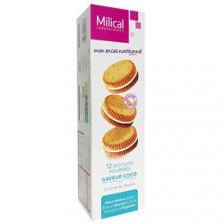 Biscuits diététiques hyperprotéinés goût coco x 12