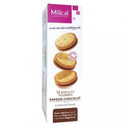 Biscuit diététiques hyperprotéinés goût chocolat x 12