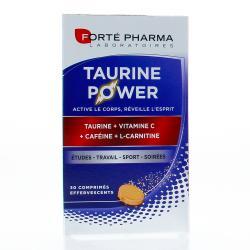 Énergie taurine power 30 comprimes effervescents