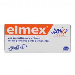 Dentifrice Junior pour enfants de 7 à 12 ans - 2 tubes de 75 ml