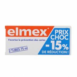 ELMEX (ROUGE) 2X75ML DENTIFR