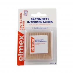 Protection caries bâtonnets interdentaires 3 x 38