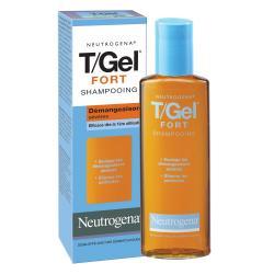 T/gel fort shampooing antipelliculaires demangeaisons intenses flacon 125ml