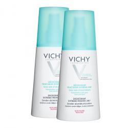 Déodorant spray ultra-frais 24H parfum fruité - lot de 2 x 100 ml