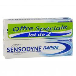 Dentifrice Rapide Lot de 2 x 75ml