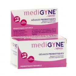 SAFORELLE Medigyne gélules probiotiques x 10