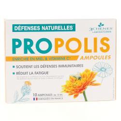 Propolis Stimulation des Défenses Naturelles - 10 Ampoules de 10ml