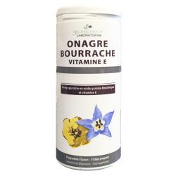 Onagre, Bourrache et Vitamine E Capital Hydratation - 150 capsules