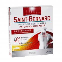 SAINT-BERNARD patchs chauffants boîte de 2