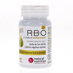 NATURAL NUTRITION HUILE DE SON DE RIZ RBO