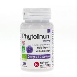 Phytolinum huile de graines de lin 1000mg 30 capsules