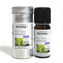 LE COMPTOIR DU PHARMACIEN Huile essentielle bio petit grain bigaradier flacon 10ml