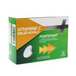 NUTRISANTÉ Vitamine C + gelée royale 24 comprimés conprimés à croquer