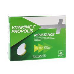 Vitamine c + propolis 24 comprimes a croquer