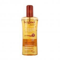 BERGASOL Bronzage passion huile sèche SPF10 spray 125ml