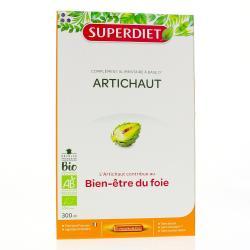 Artichaut bio bien-être du foie 20 ampoules 15ml