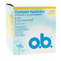Applicateur ProComfort Normal boite de 16 tampons avec applicateur