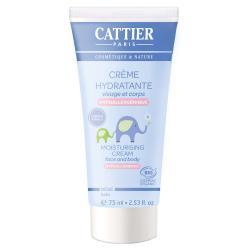 Bébé crème hydratante hypoallergenique visage et corps bio 75ml