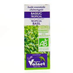 Huile Essentielle Bio Basilic Tropical - 10 ml