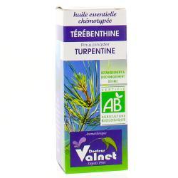 Huile essentielle de terebenthine bio flacon 10ml