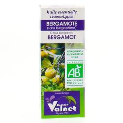 Huile essentielle de bergamote bio flacon 10ml