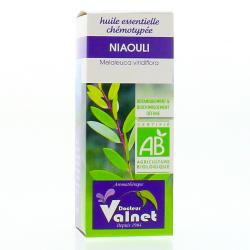 Huile essentielle de niaouli bio flacon 10ml