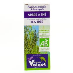 Huile essentielle d�arbre à thé bio flacon 10ml