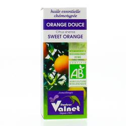 Huile essentielle d�orange douce bio flacon 10ml