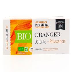 Infusion bio oranger 20 sachets