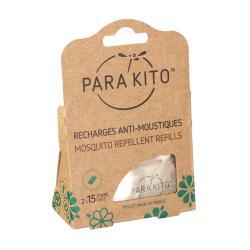 Recharges pour bracelet anti-moustiques x2 30 jours de protection