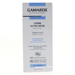 Hydratation active crème hydratante riche ++ bio tube 40g