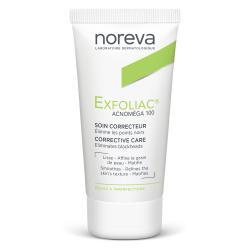 NOREVA Exfoliac Acnoméga 100 soin kératorégulateur matifiant Tube 30ml