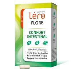 LERO Activ' Flore confort intestinal Boîte de 15 gélules