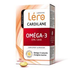 LERO Preserv' Cardilane oméga-3 Boîte de 30 capsules