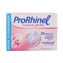 PRORHINEL EMBOUTS X20 20 embouts