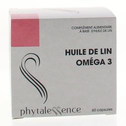 Huile de Lin Omega 3 60 capsules