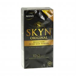 MANIX Skyn Original préservatifs sans latex 10 + 2 gratuits