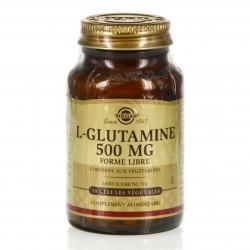 SOLGAR L glutamine 500mg 50 gélules
