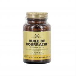 Huile de bourrache Super gla 300 mg - 30 capsules