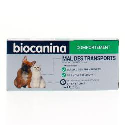 MAL DES TRANSPORTS BIOCANINA Boîte de 2 plaquettes thermoformées de 10 comprimés quadrisécables
