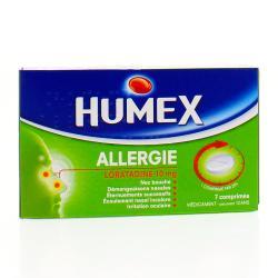 Humex allergie loratadine 10 mg Boîte de 7 comprimés