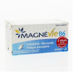 Magnévie b6 100 mg/10 mg Boîte de 120 comprimés