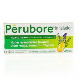 Perubore inhalation Boîte de 15 capsules
