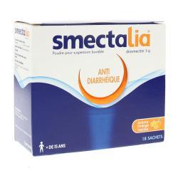 Smectalia 3 g Boîte de 18 sachets