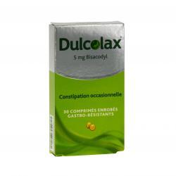 Dulcolax 5 mg Boîte de 30 comprimés