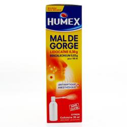 Humex mal de gorge, collutoire Flacon de 35 ml