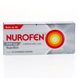 Nurofen 200 mg Boîte de 30 comprimés