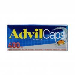 Advilcaps 400 mg Boîte de 14 capsules